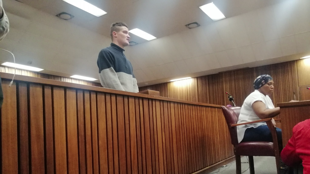 Suspected Dros rapist, Nicholas Ninow at the North Gauteng High Court on Monday.