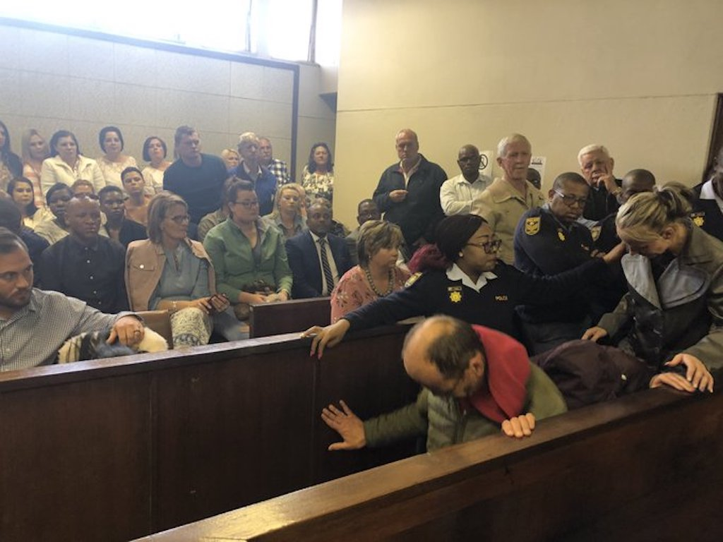The three people accused of orchestrating and executing the kidnapping of Amy'Leigh De Jager appeared in court.