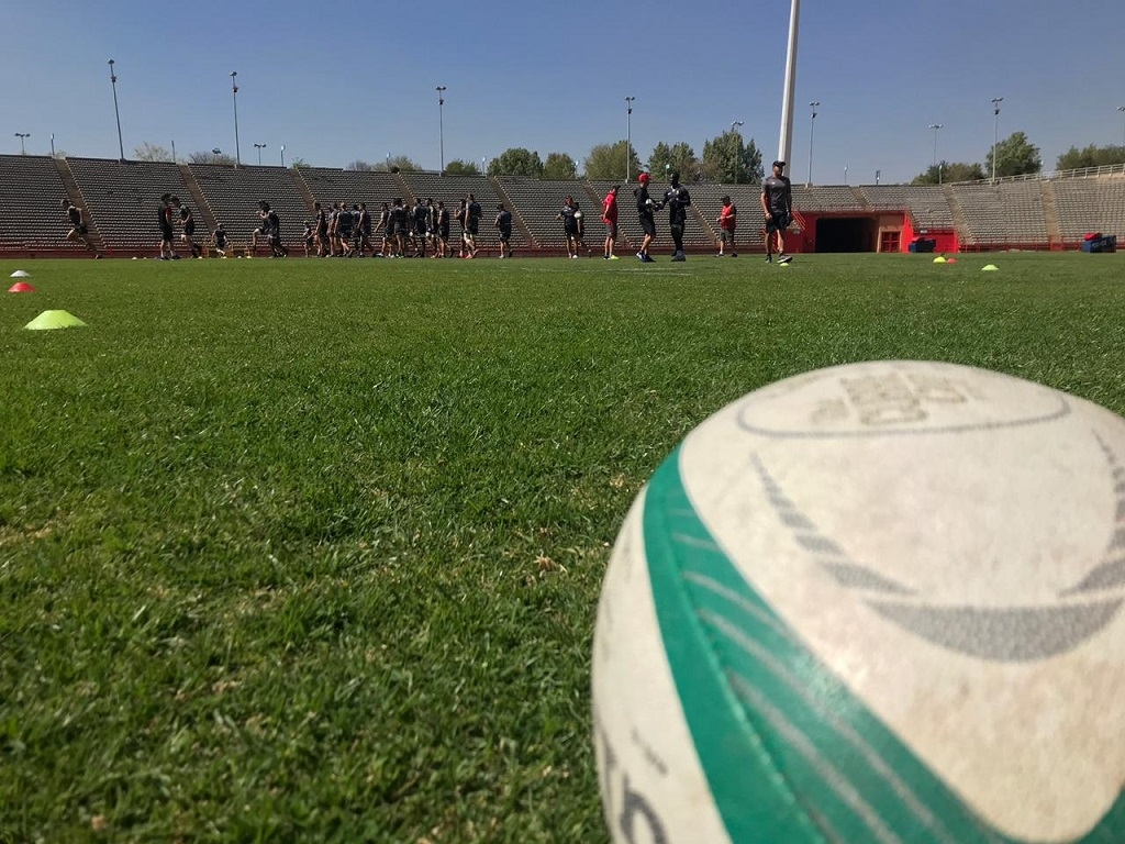 Rugby ball currie cup preparation Golden Lions