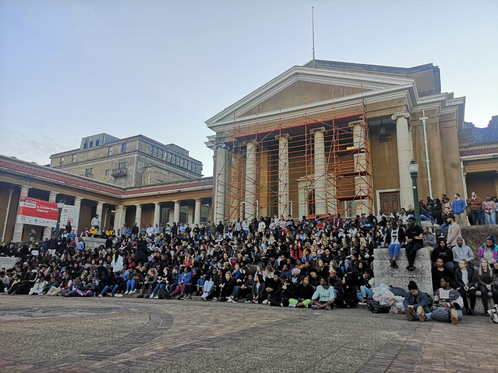 UCT night vigil held for student Uyinene Mrwetyana