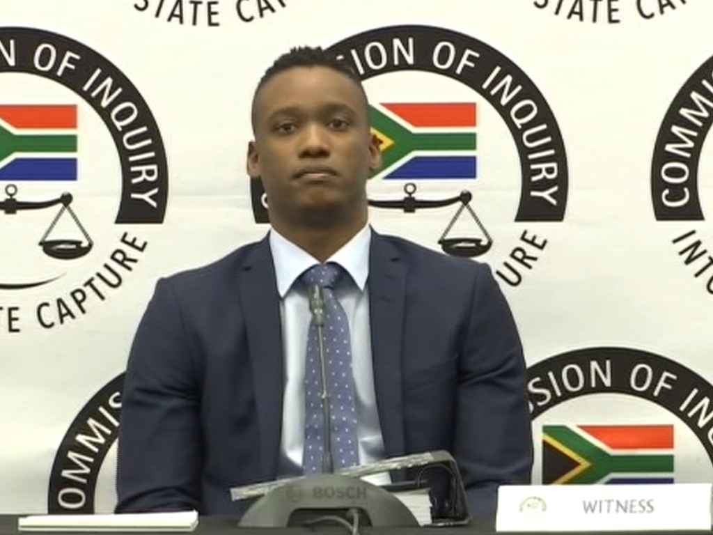 Duduzane Zuma appears before state capture inquiry on 7 October 2019
