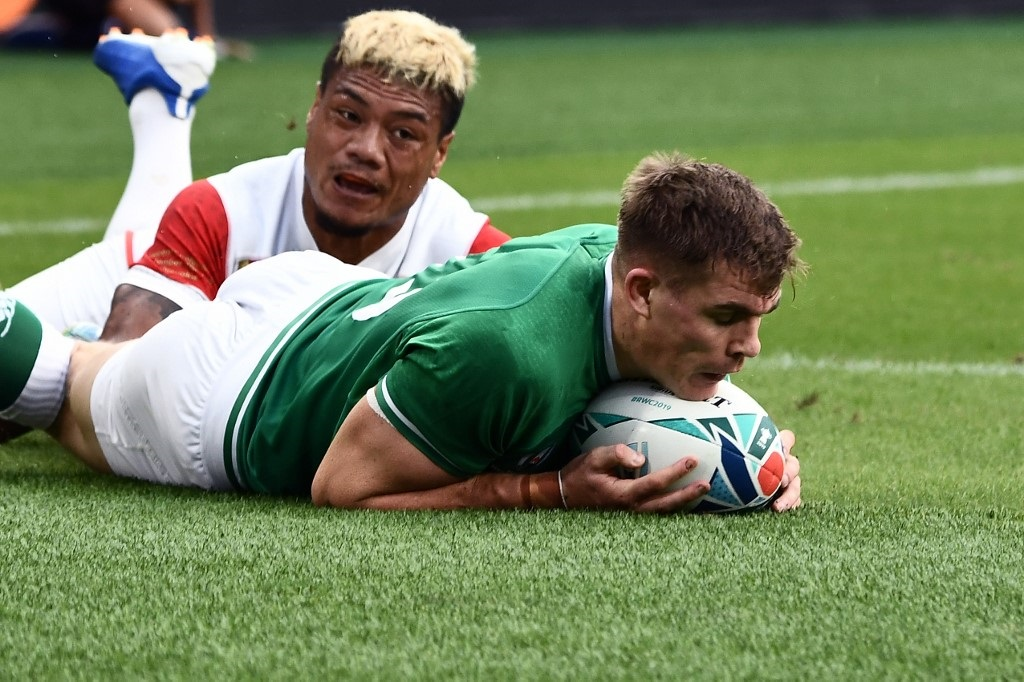 Ireland rugby Garry Ringrose world cup 2019