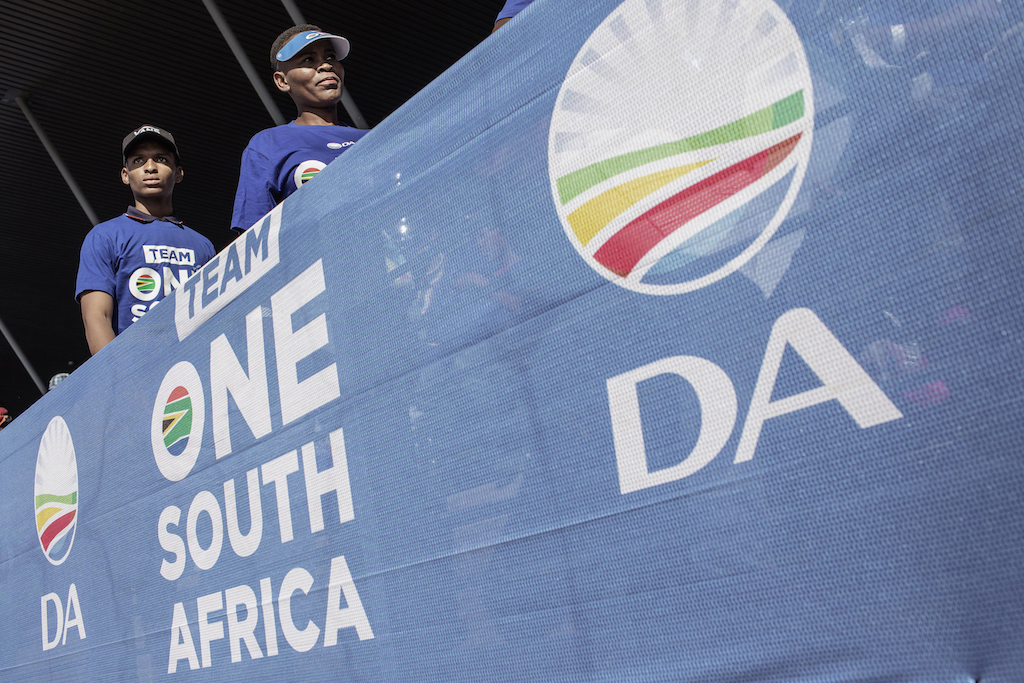 File: On Wednesday, the Democratic Alliance delivered its alternative State of the Nation Address.