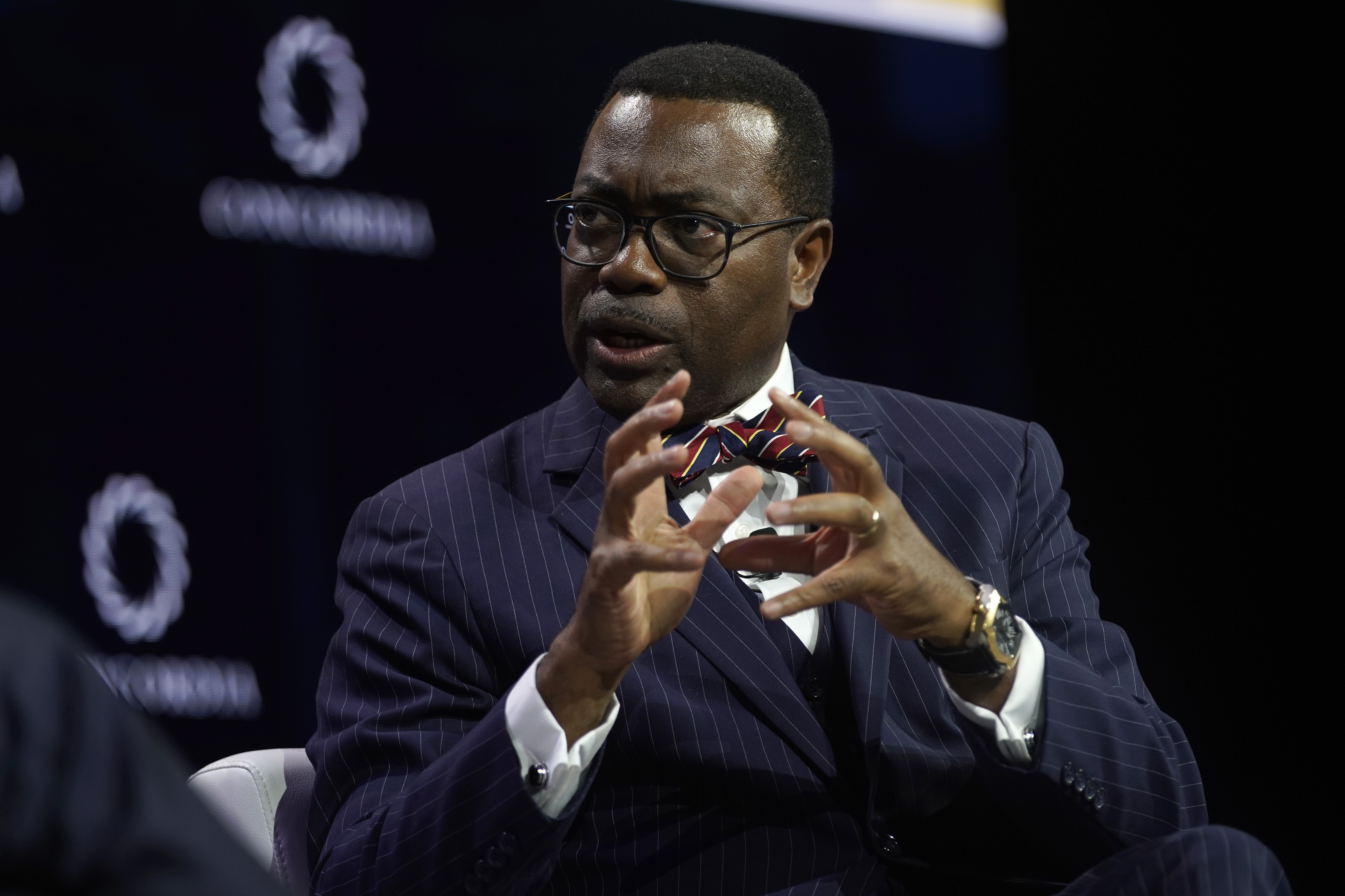 File: The investigation into Akinwumi​​​​​​​ Adesina, a former Nigerian minister for agriculture, follows calls for a probe by Washington.