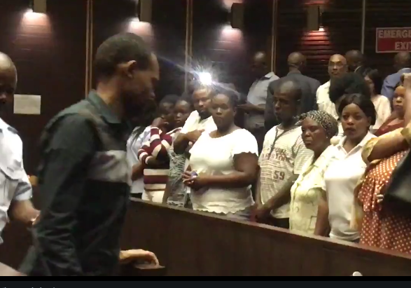 Sibusiso Mpungose was sentenced to four life terms for the murder of his children.
