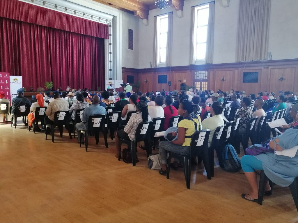 133 title deeds are given to township residents