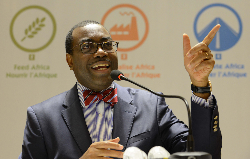 File: Akinwumi Adesina became the first Nigerian to helm the AfDB in 2015.