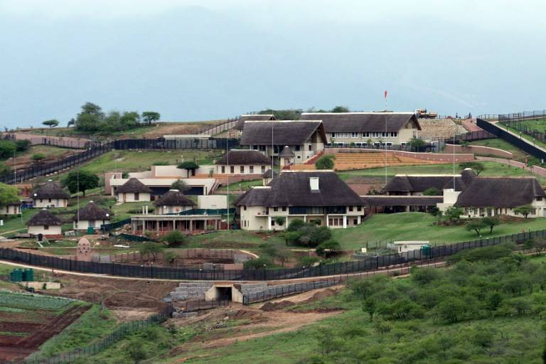 File: Former president Jacob Zuma is fighting to keep his Nkandla home after defaulting on a loan taken to retain the homestead.