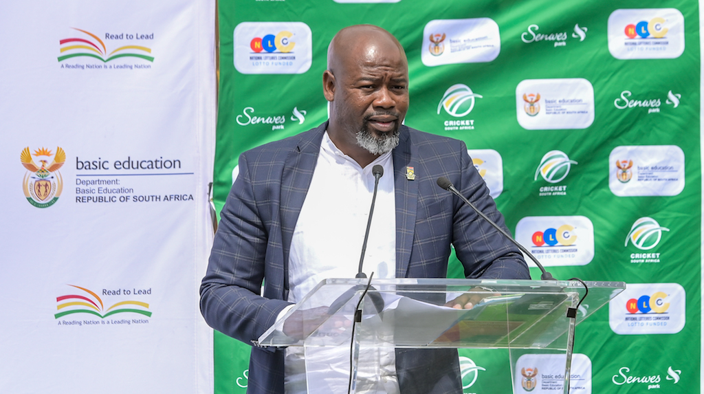 File: Suspended Cricket SA CEO Thabang Moroe.