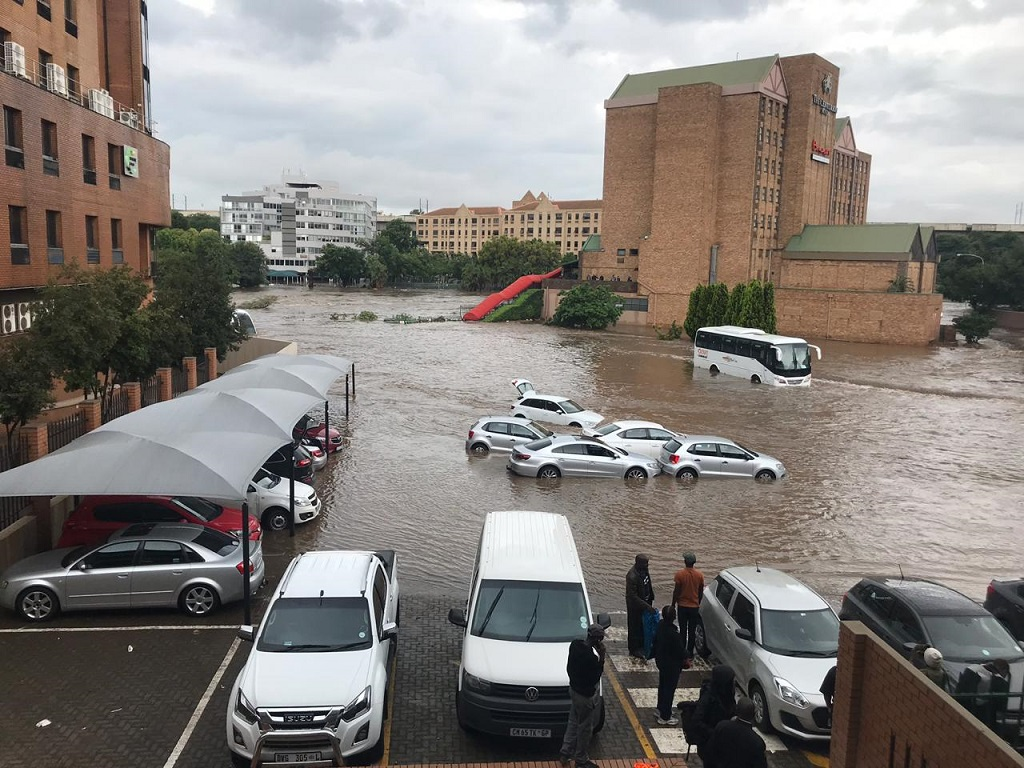 Centurion hotel flood