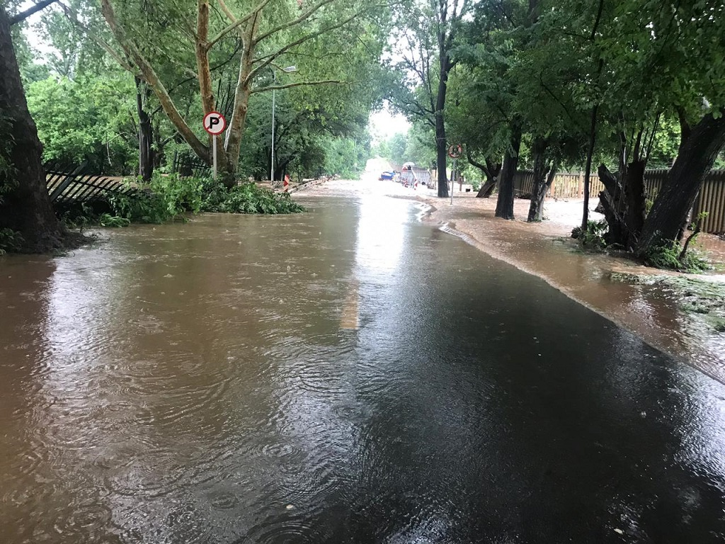 Flooding in Centurion