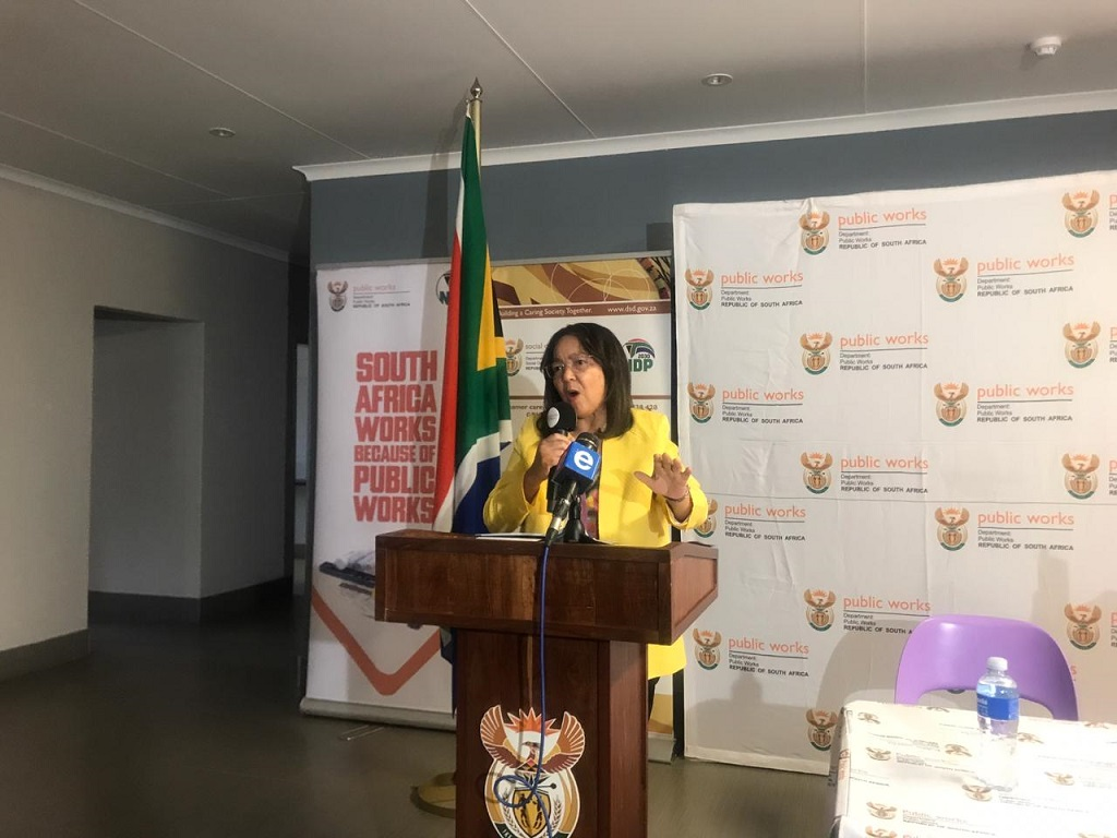 Patricia de Lille will be launching an initiative against GBV