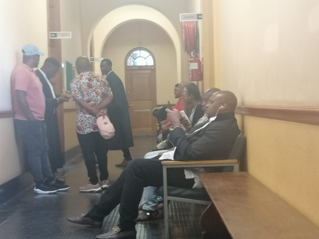 Floyd Shivambu appears in  court on assault charges