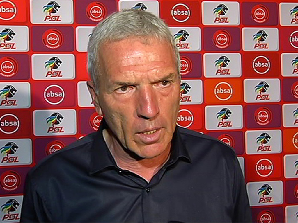 Kaiser Chiefs coach Ernst Middendorp is riding a wave of success.