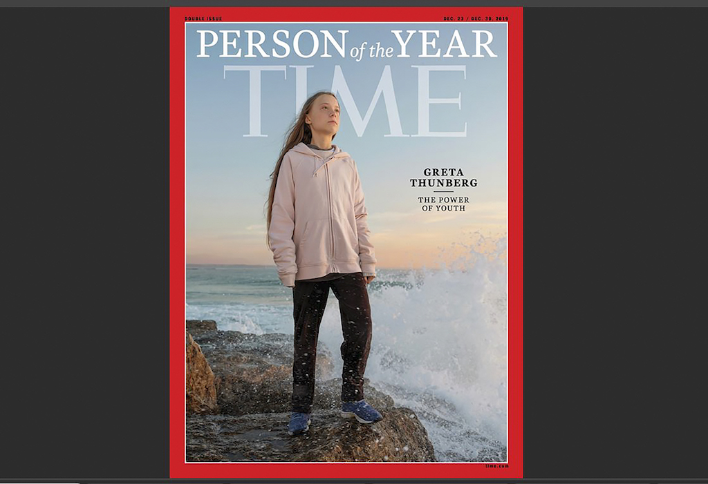 Greta Thunberg has been named as Time magazine's 2019 Person of the Year.