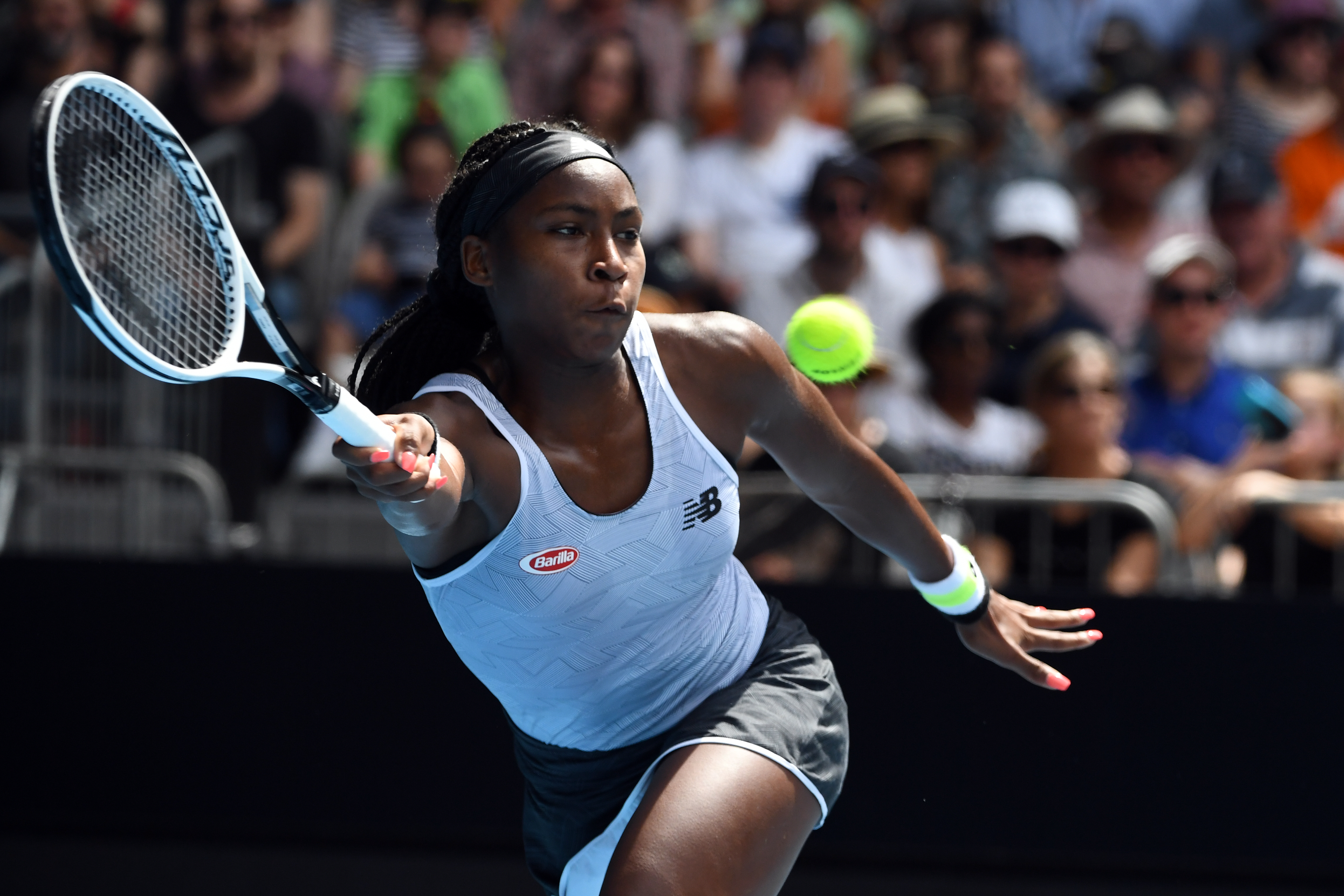 File: Coco Gauff has enjoyed a sensational run on the professional circuit since July last year.