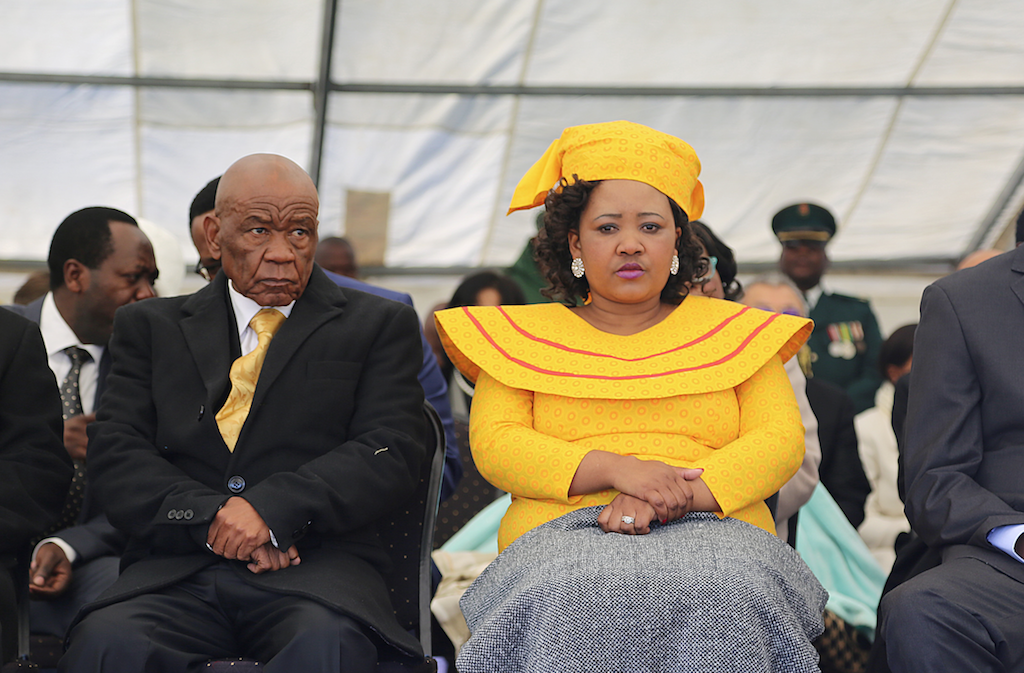 File: Lesotho police allege Maesaiah Thabane (pictured) hired eight assassins to kill her husband Thomas Thabane's former wife Lipolelo Thabane.