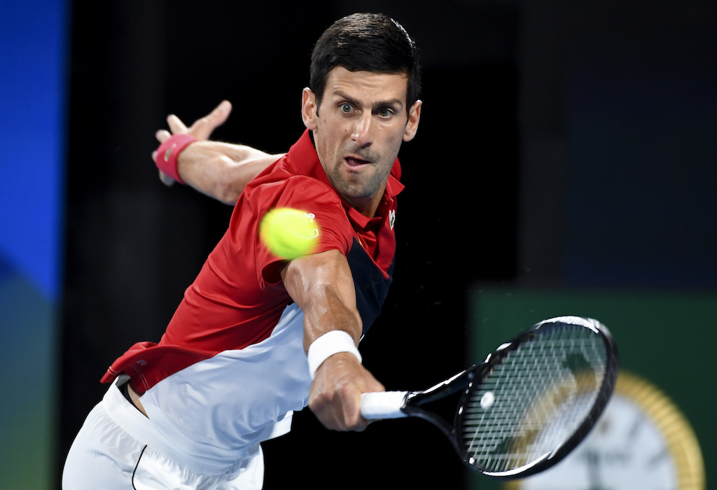 Novak Djokovic won all eight of his matches last week.