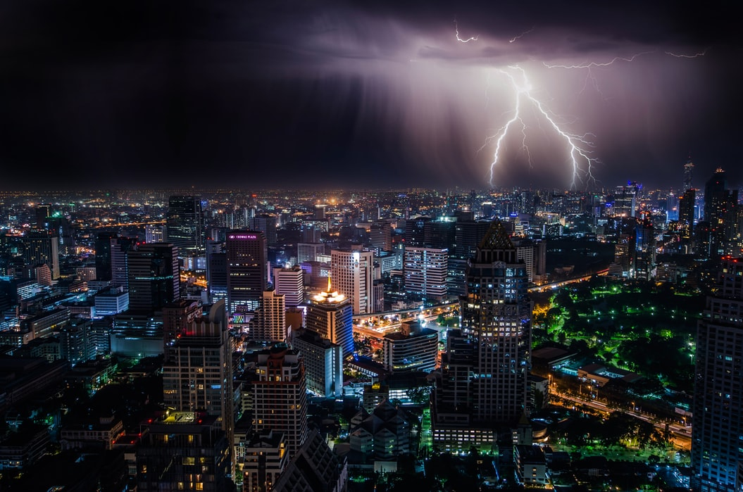 File: An international team of researchers wanted to see what effect short-term weather extremes would have on urban power grids.