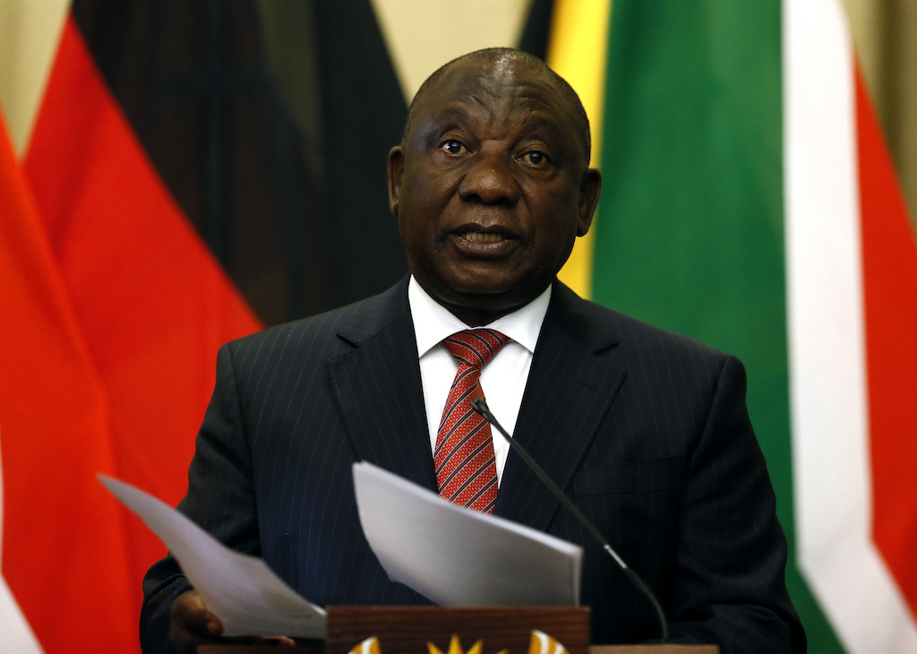 Just over 40 percent of young people don't have jobs but President Cyril Ramaphosa insists the situation can be changed.