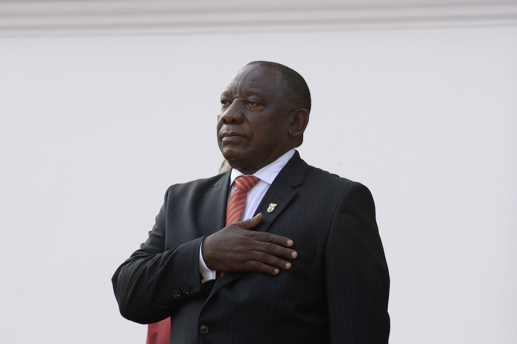 President Cyril Ramaphosa says the prayer should be held between 18:00 and 18:30 on Thursday.