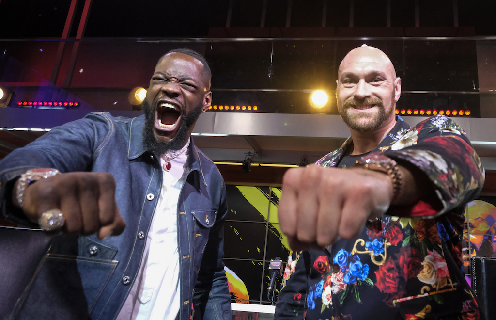Tyson Fury is 29-0 with one drawn and 20 knockouts while Deontay Wilder enters 42-0 with one drawn and 41 knockouts.