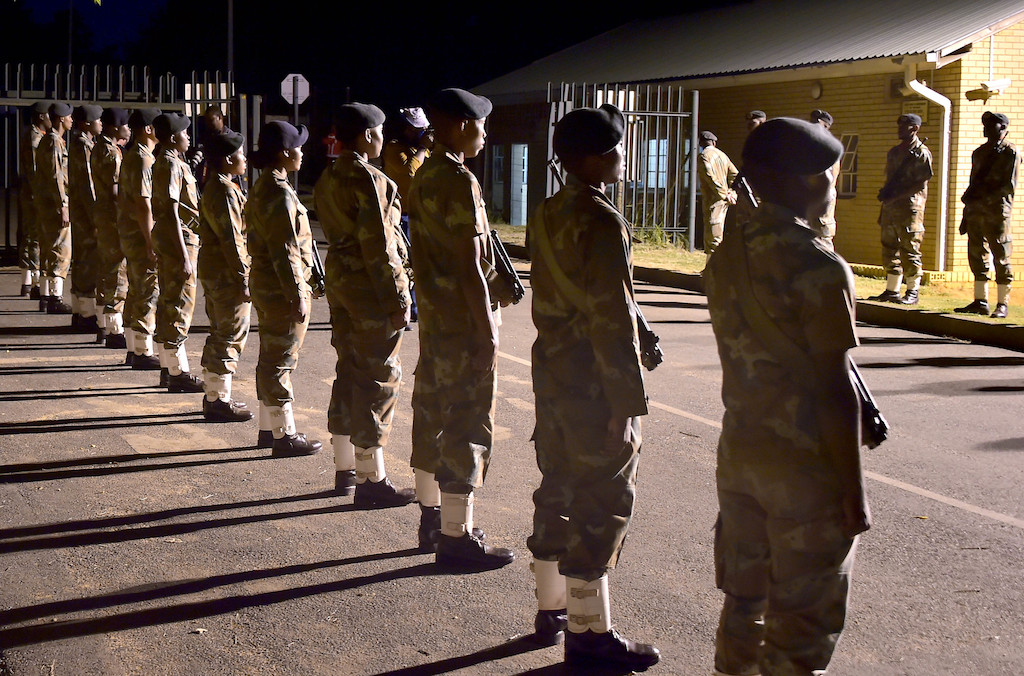 File: The SANDF needs their help to fight COVID-19.