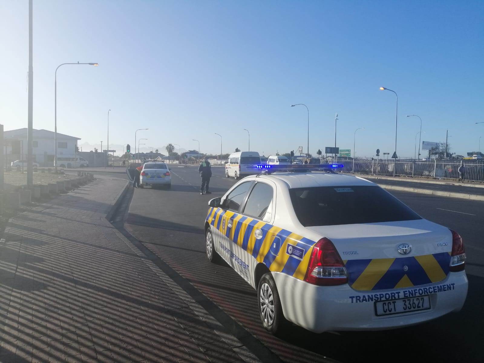 Metro Police keeping an eye on taxis in the Western Cape.