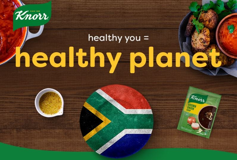 Alongside Knorr, we believe that wholesome, nutritious food should be accessible to all. That's why we're joining Knorr on a journey to help fix South Africa's broken food system and change the Plate of the Nation.