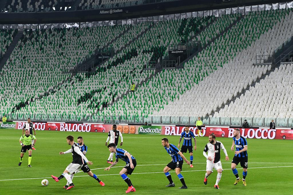 Sad to play' in empty stadium, says Juventus chief   eNCA