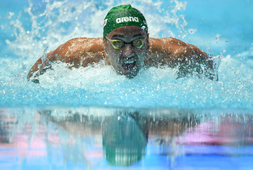 Chad le Clos is now at home in Cape Town and uncertain of his immediate future plans.