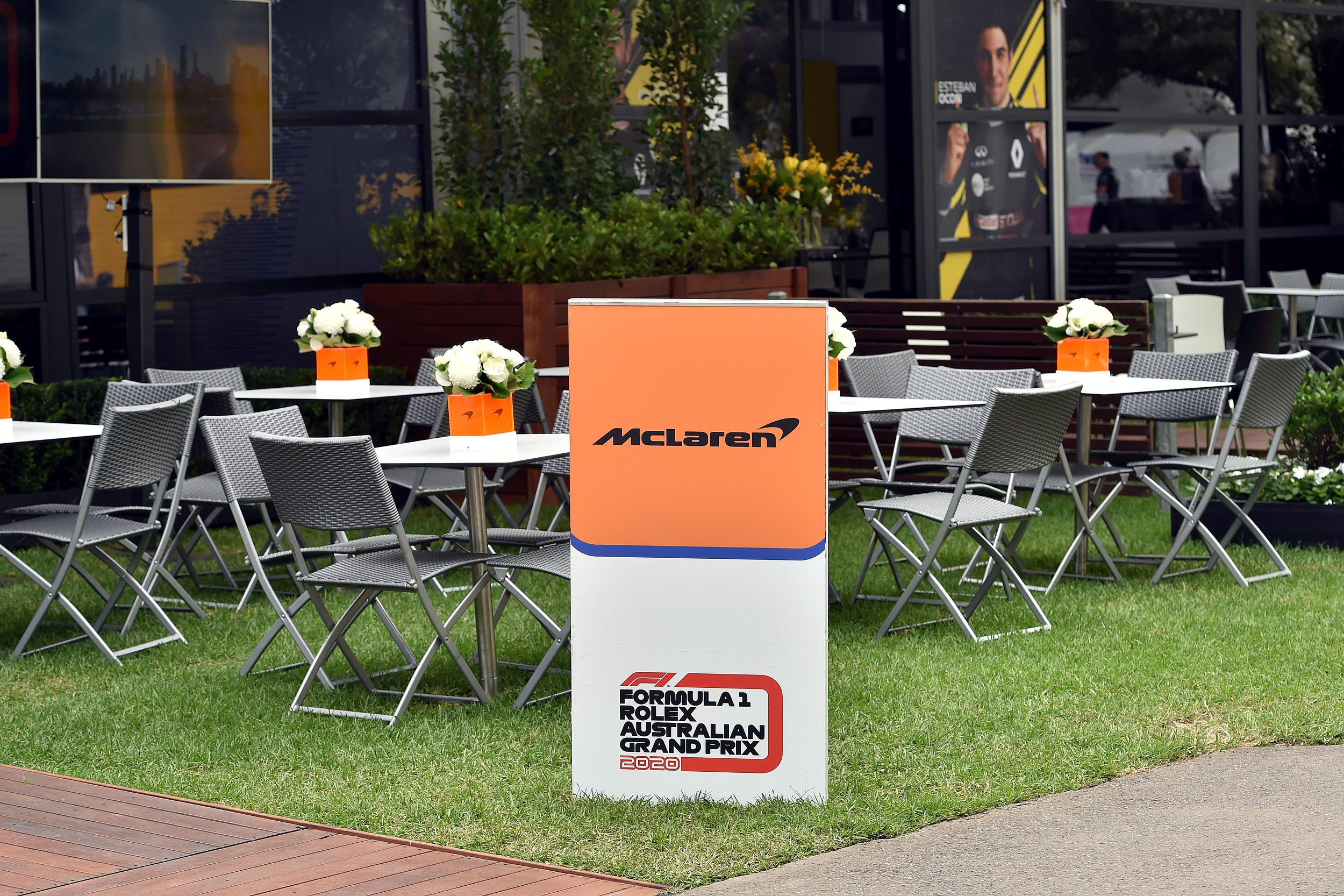 A total of 16 McLaren staff were placed in quarantine for two weeks at the request of the Australian medical authorities.