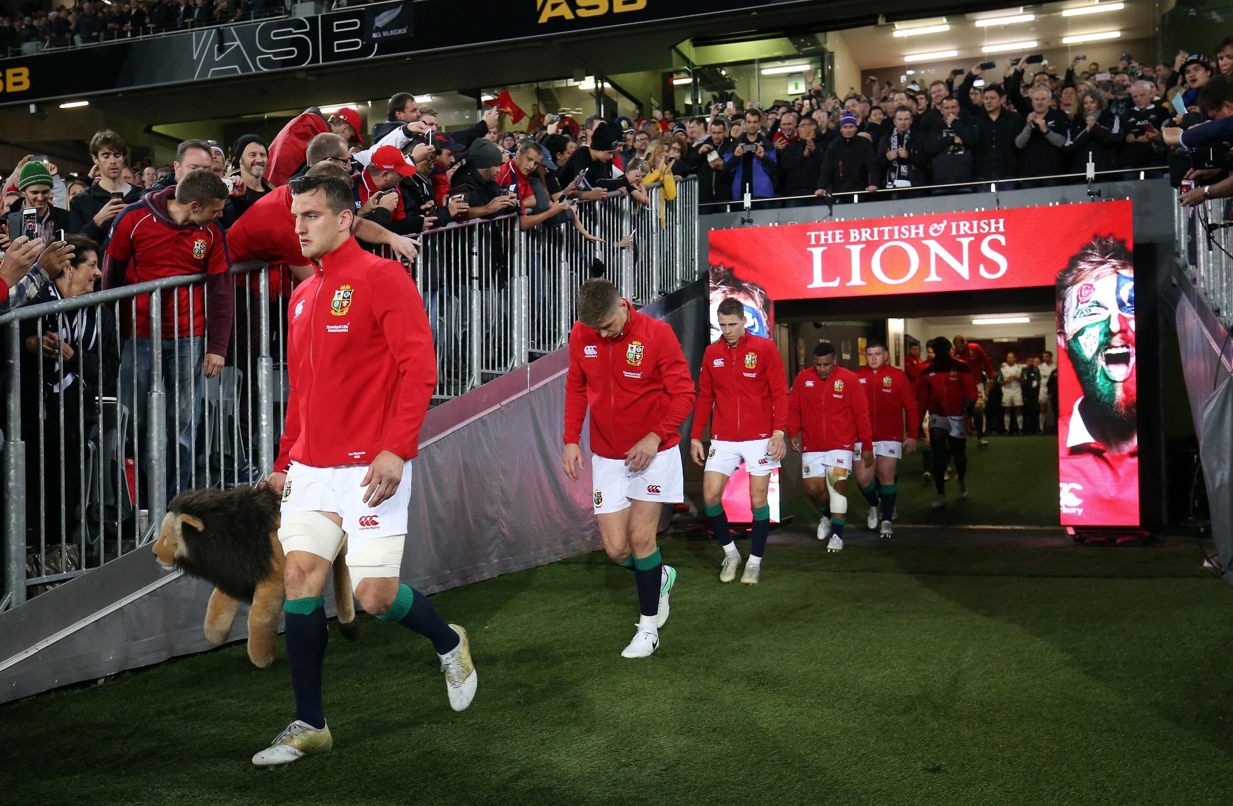 File: The eagerly awaited visit by the Lions is scheduled for July and August 2021.