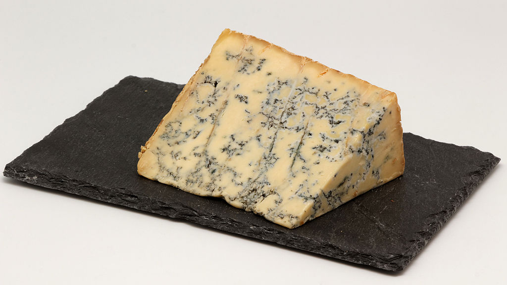 Stilton has a protected designation of origin status, meaning it can only be produced using traditional methods in Leicestershire, Nottinghamshire and Derbyshire, central England.