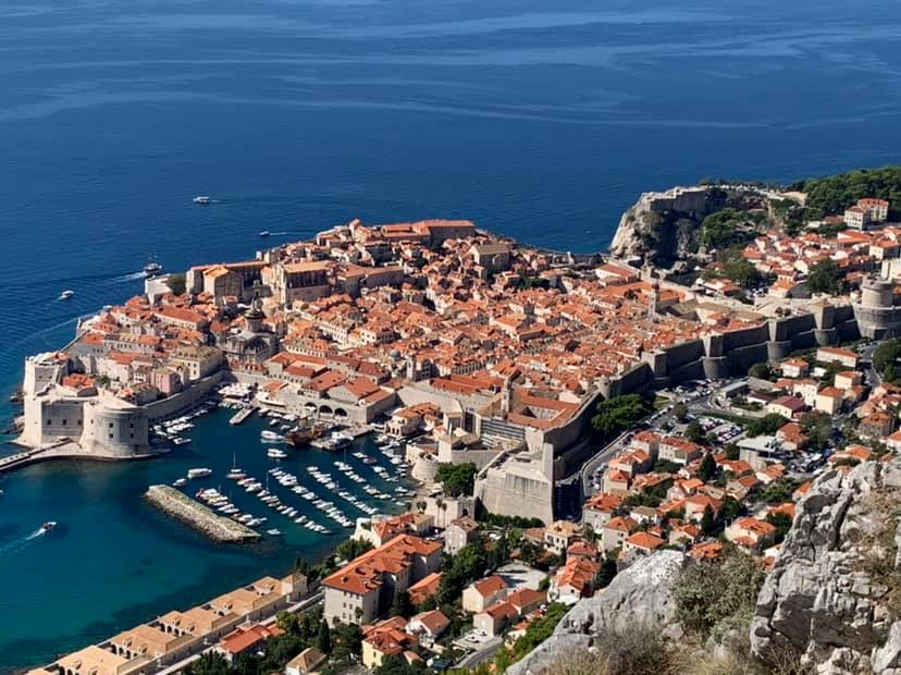 The 42,000 inhabitants of the Croatian city of Dubrovnik are also rediscovering beaches which had become overrun by tourists.