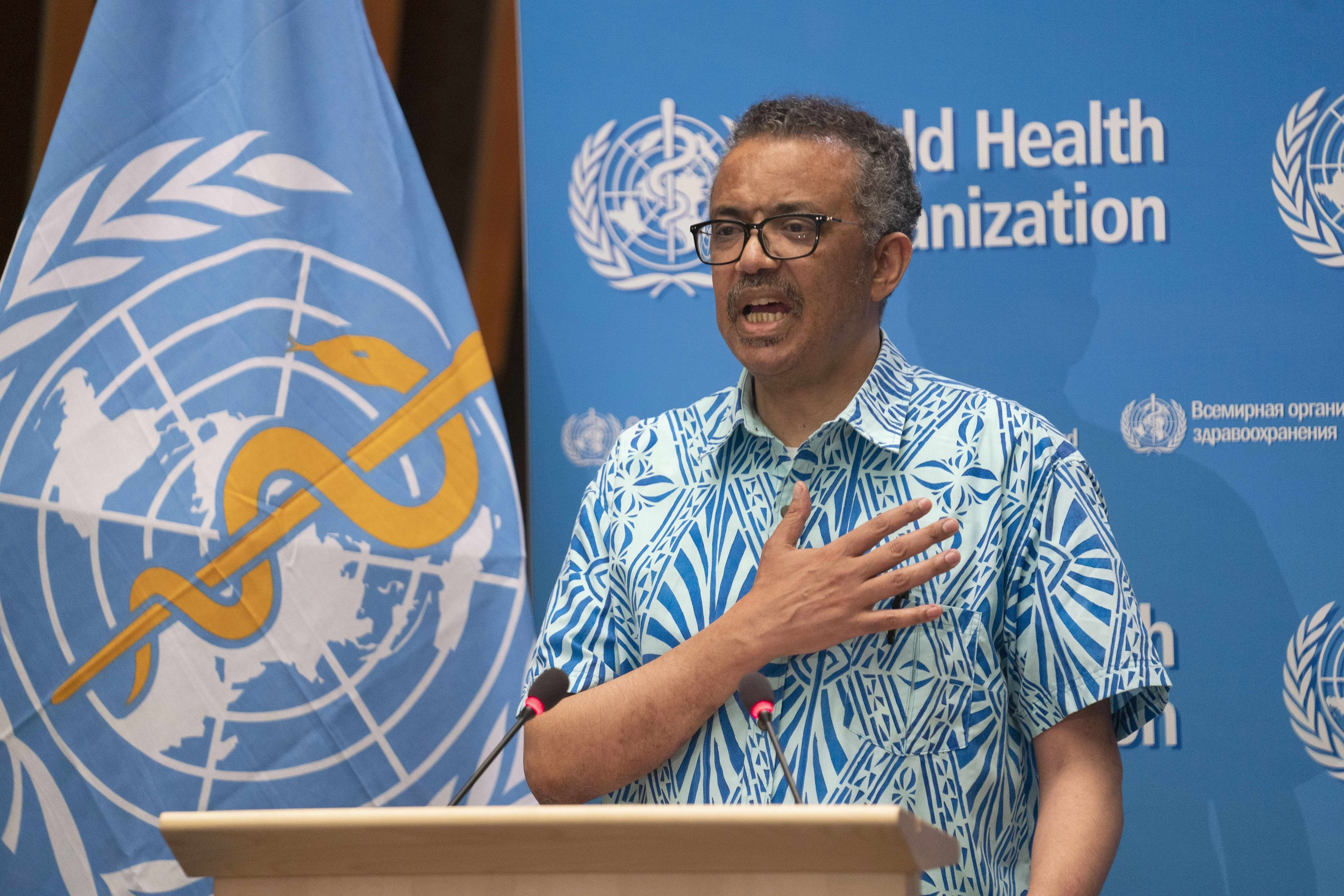 The WHO's eighth director-general, in post since 2017, is 55-year-old former Ethiopian health and foreign minister Tedros Adhanom Ghebreyesus.