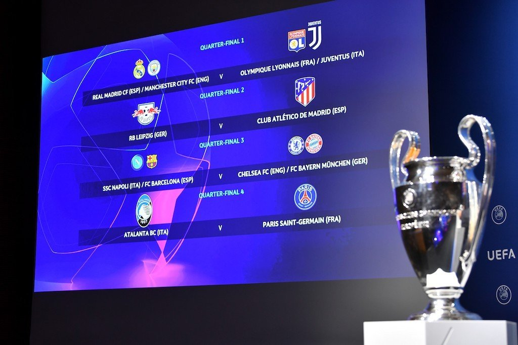 champions league final eight set to be played behind closed doors enca https www enca com sport champions league final eight set be played behind closed doors