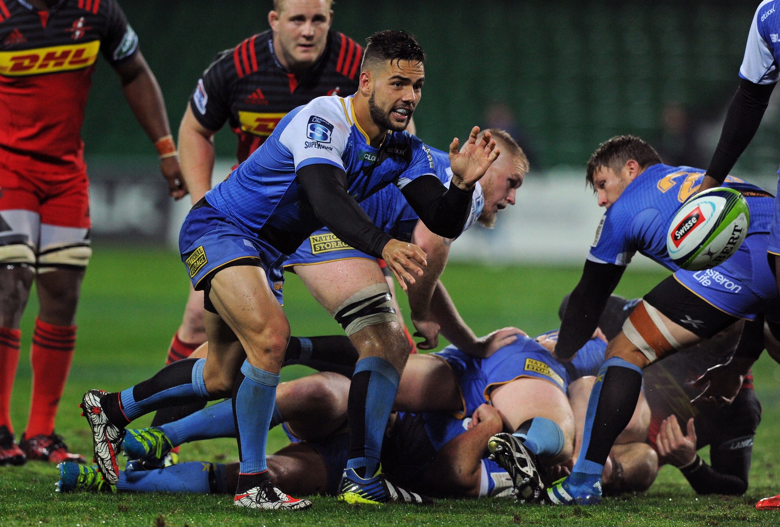 File: The Western Force were seen as surplus to requirements when SANZAAR decided to reduce the competition from an 18-team model to 15 for the 2018 season.
