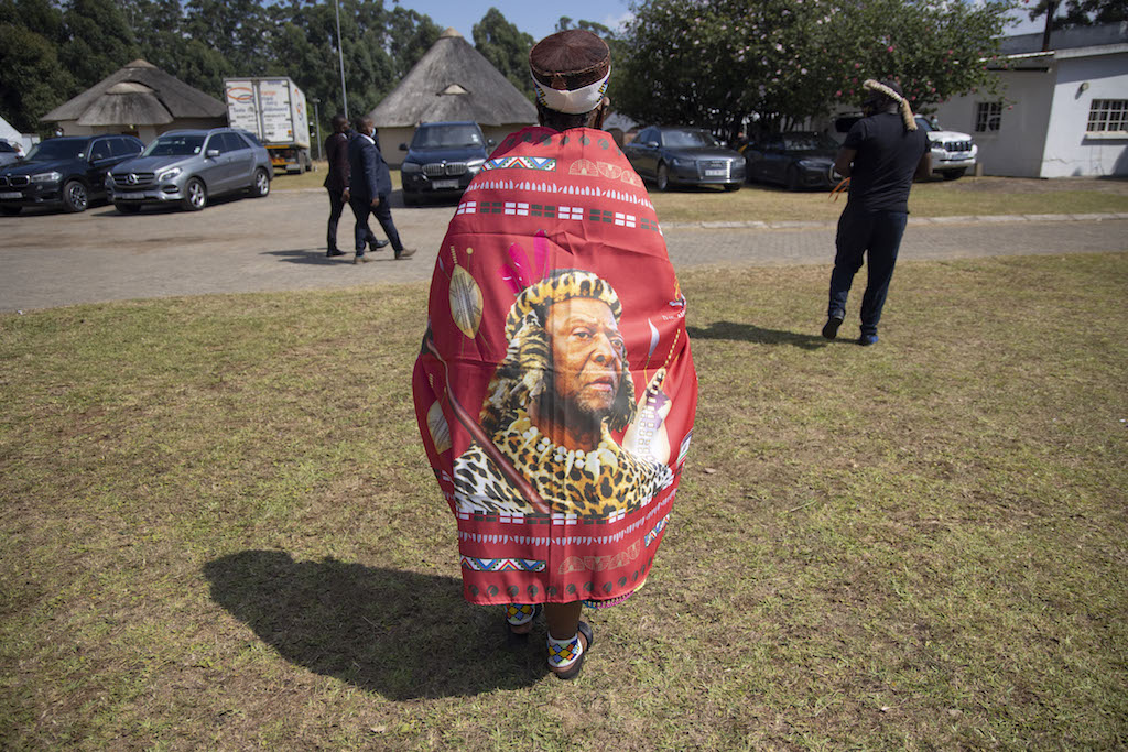 King Goodwill Zwelithini's memorial service - Pictures
