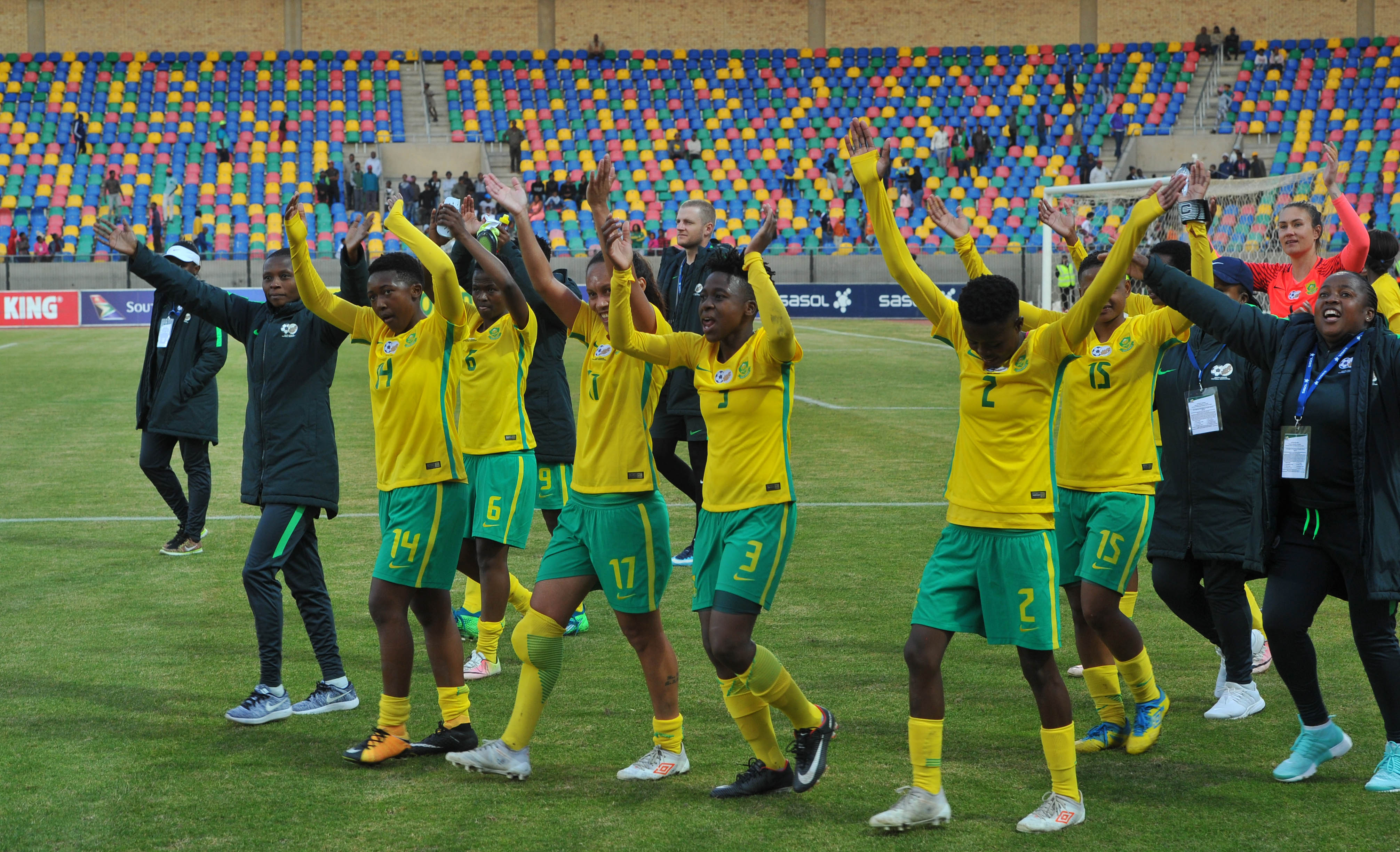 File: Banyana Banyana are aiming to celebrate women's month with another Cosafa Championship crown.
