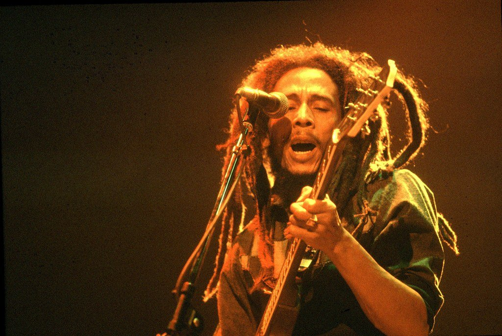 File: The Bob Marley reggae hit played out during a special programme on the Strasbourg suspect's demise.