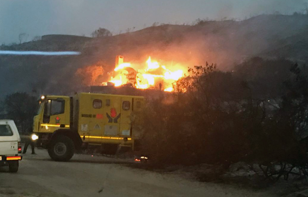 Knysna Fire Map.Update Knysnafires Controlled Contained Mayor Enca