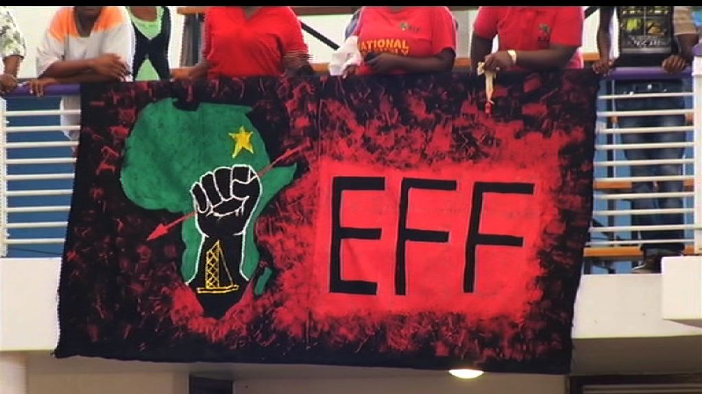 File: The EFF has been embroiled in a conflict with the media.