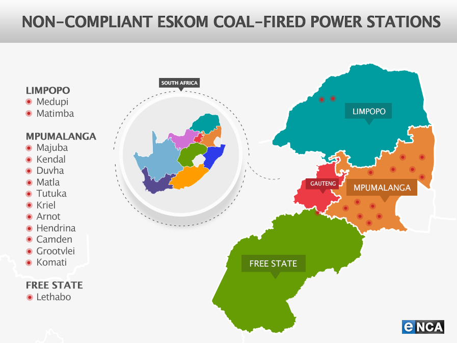 South African air quality at risk if Eskom gets its way | eNCA