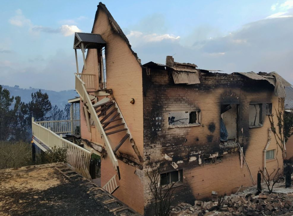 File: The Knysna fire of June 2017 was the biggest and most destructive fire in South Africa's recorded history since 1869.