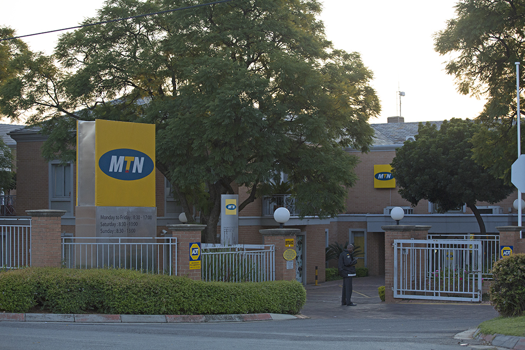 File: MTN offices on Summit Road in Morningside, Johannesburg north, seen on 13 June 2013. Picture: Lenyaro.