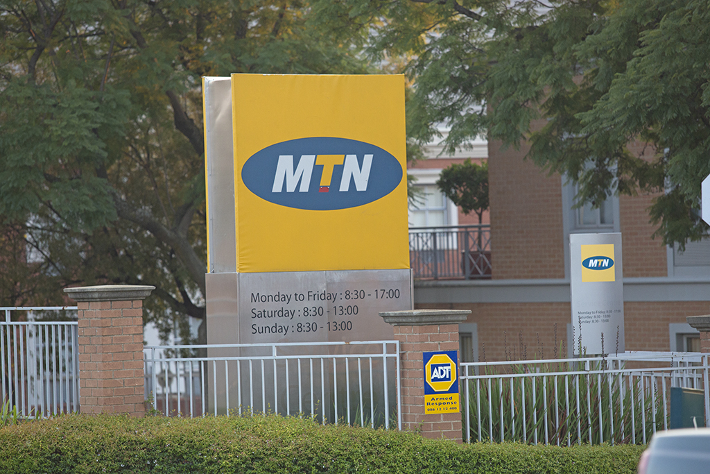 MTN offices on Summit Road in Morningside, Johannesburg north, seen on 13 June 2013.