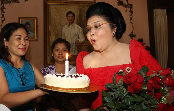 Over 260 fall ill at former philippine president's wife birthday party