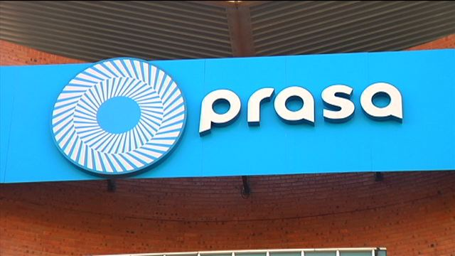 File: Prasa says criminals forcibly entered the station attacking and looting some of the shops.