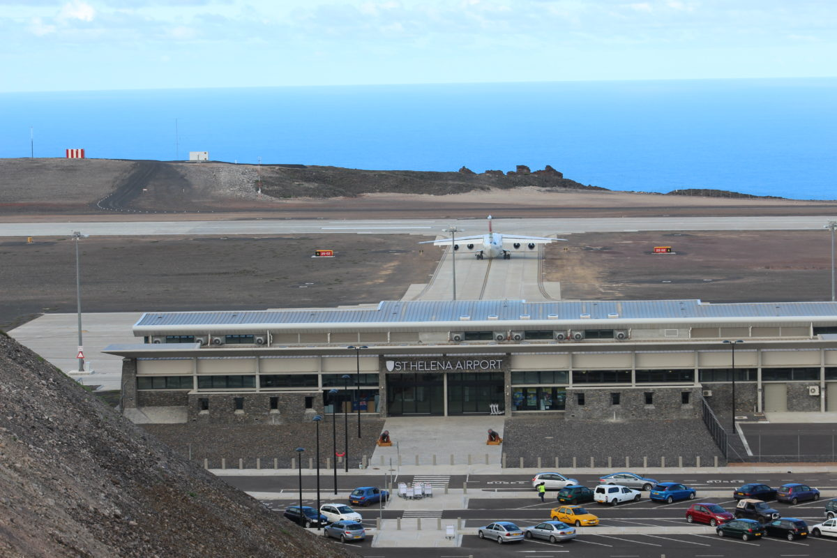St. Helena tourism cleared for takeoff as airport opens | eNCA